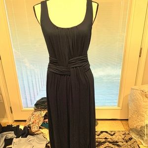 Anthropologie Bailey 44 Paradigm Navy Maxi Dress